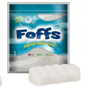 Foffs Esponja Super Macia Branca