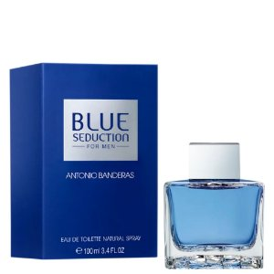 Antonio Banderas Blue Seduction Perfume Masculino Eau De Toliette 100ml