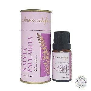 Aromalife Óleo Essencial Sálvia Esclareia 5ml