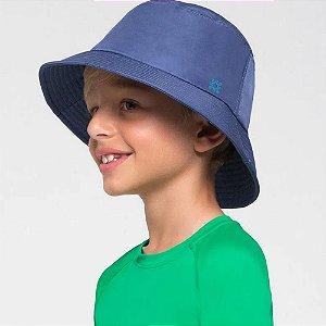 Uv Line Chapéu UV com Proteção Solar Basic Kids Índigo Un