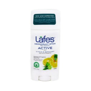 Lafes Desodorante Natural Stick Retrátil Active 64g