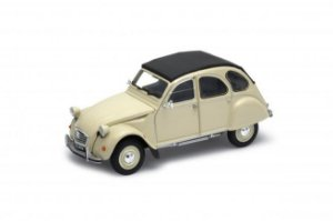 CITROEN 2CV CHARLESTON CINZA 1/24