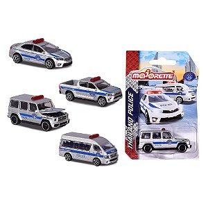 MAJORETTE THAILAND POLICE CARS 1/64