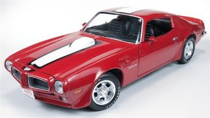 1972 PONTIAC FIREBIRD TRANS AM 1/18