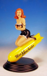ACTION FIGURE MISS MANCHESTER (GRAF.AVIOES)1/6
