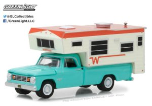 1965 DODGE D-100 WITH WINNEBAGO SLIDE-IN 1/64