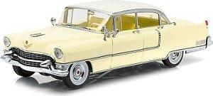 1955 CADILLAC FLETWOOD SERIES 60 AMARELO 1/18