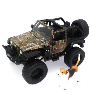 2007 JEEP REAL TREE 1/24