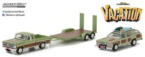 "1972 FORD F100 + 1979 FORD WAGON QUEEN + FLAT BED ""VACATION""  1/64"
