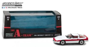 "1984 CHEVROLET CORVETTE C4 "" THE A-TEAM"" 1/43"
