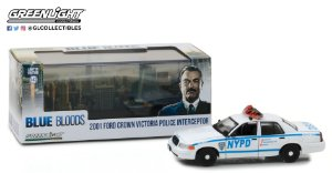2001 FORD CROWN VICTORIA POLICIA NYPD 1/43