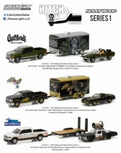 HOLLYWOOD HITCH & TOW SERIE 1 1/64