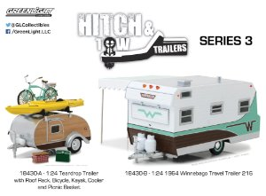 HITCH & TOW TRAILERS SERIES 3 1/24