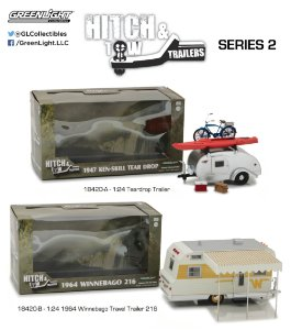HITCH TOW TRAILERS SERIES 2 1/24