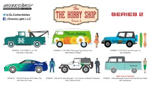 THE HOBBY SHOP SERIES 2 1/64