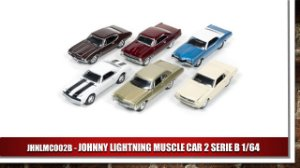JOHNNY LIGHTNING MUSCLE CAR 2 SERIE B 1/64