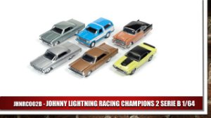 JOHNNY LIGHTNING RACING CHAMPIONS 2 SERIE B 1/64