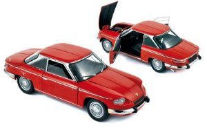 1964 PANHARD 24CT RED 1/18