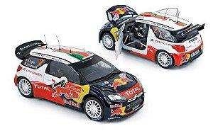 2011 CITROEN DS3 WRC RALLYE 1/18