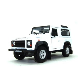 LAND ROVER DEFENDER BRANCA 1/24