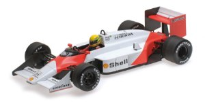 MCLAREN TAG MP4/3 AYRTON SENNA TEST CAR 1987 1/18