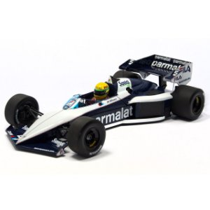 BRABHAM BMW BT52B SENNA TEST CAR 1/18