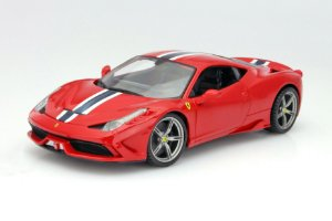 FERRARI 458 SPECIALE RACE PLAY 1/18