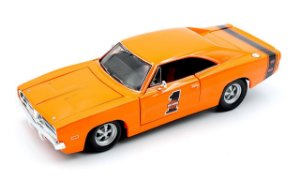 1969 DODGE CHARGER RT HARLEY DAVIDSON 1/24