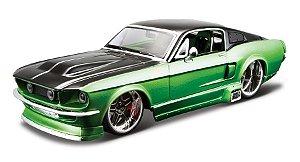 1967 MUSTANG GT KIT EM METAL PARA MONTAR 1/24