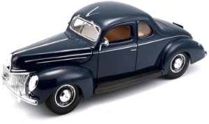 1939 FORD DELUXE COUPE 1/18