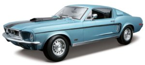 1968 FORD MUSTANG GT COBRA 1/18