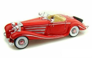 1936 MERCEDES BENZ 500K SPECIAL ROADSTER 1/18