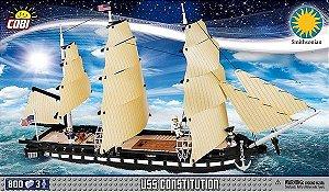 "CARAVELA "" USS CONSTITUTION"" BLOCOS PARA MONTAR COM 800 PCS"