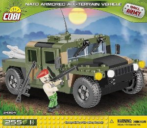 HUMVEE CAMO ALL TERRAIN BLOCOS PARA MONTAR COM 255 PCS