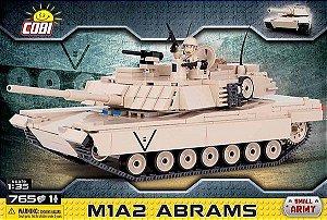 TANK AMERICANO M1A2 ABRAMS BLOCOS PARA MONTAR COM 765 PCS