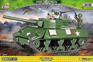 TANK AMERICANO M36 JACKSON BLOCOS PARA MONTAR COM 460 PCS