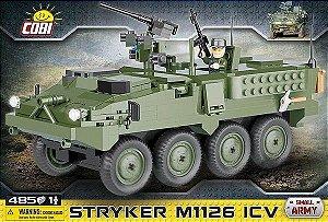 VEICULO DE INFANTARIA AMERICANO STRYKER M1126 BLOCOS PARA MONTAR COM 485 PCS