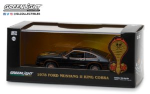 1978 FORD MUSTANG II KING COBRA BLACK & GOLD 1/43