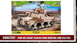 TANK M3 GRANT BLOCOS PARA MONTAR COM 555 PCS