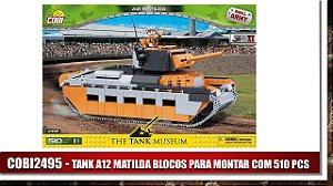 TANK A12 MATILDA BLOCOS PARA MONTAR COM 510 PCS