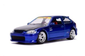 1997 HONDA CIVIC EK TYPE R JDM AZUL 1/24