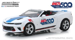 2017 CHEVY CAMARO CONVERSIVEL INDY500 EVENT CAR 101 1/24