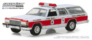1985 FORD LTD CROWN VICTORIA WAGON NEW JERSEY BOMBEIRO 1/64
