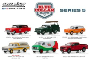 1:64 WORK & PLAY BLUE COLLAR COLLECTION SERIE 5