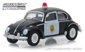 HOT PURSUIT SERIE 31 VW FUSCA SIOUX FALLS DAKOTA DO SUL 1/64