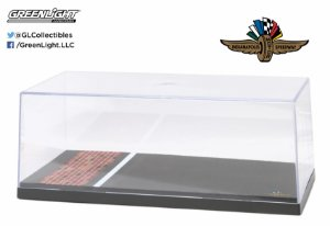 DISPLAY DE ACRILICO COM BASE INDIANAPOLIS MOTOR SPEEDWAY 1/18