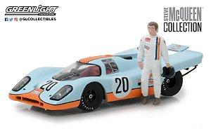 1970 PORSCHE 917K GULF COM BONECO STEVE MACQUEEN 1/43