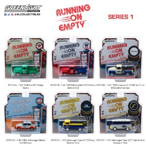 RUNNING ON EMPTY SERIE 1 1/43