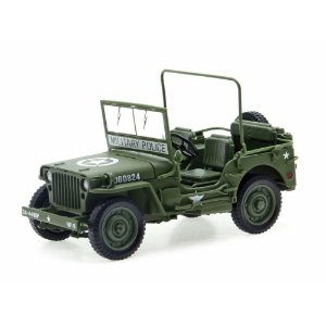 JEEP WILLYS OLIVE 1/18