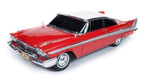 1958 PLYMOUTH FURY CHRISTINE  1/18
